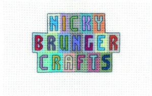 an image of the cross stitch logo of Nicky Brunger Crafts