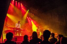 Vacationer plays live at Harpa Music Hall in Reykjavík, Iceland