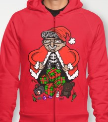 Nicky Digital Holiday Zip-Up Hoodies available HERE!