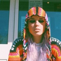 STYLE: Rainbow Cardigan Sweater by UNIF Clothing