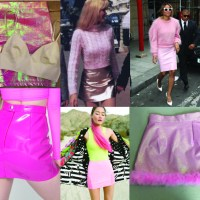 STYLE: Throwback Thursday The Pink Mini Skirt