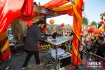 XXYYXX (Marcel Everett) performs on the Girls & Boys stage at BangOn!NYC's Elements Festival