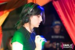Anna Lunoe performs on the Girls & Boys stage at BangOn!NYC's Elements Festival