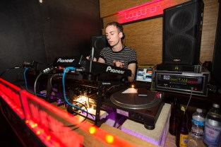 Palms Trax performs at the Together X Dekmantel Showcase at Middlesex Lounge on May 17, 2016