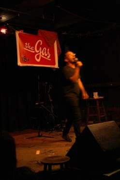 Myq Kaplan at The Gas two