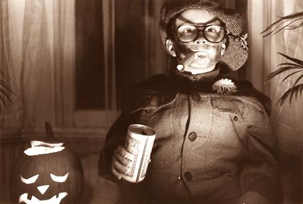 Michael Gerber as Halloween Bum