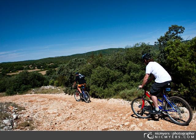 Biking through the Penedès  Wine Region of Spain