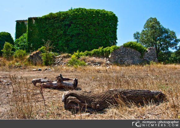 Abandoned house: Penedès Wine Region, Spain