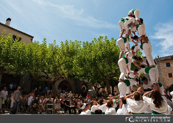 La Llacuna village festival. Penedès Wine Region, Spain