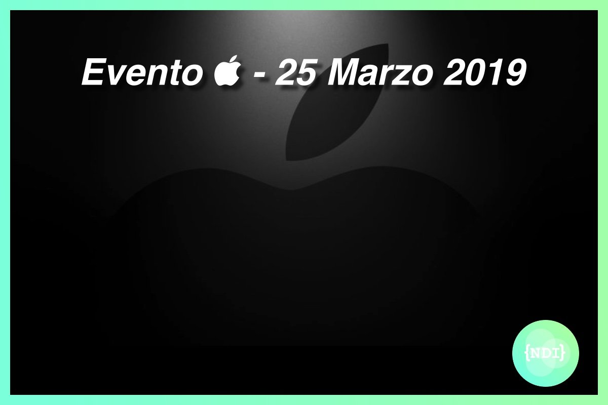 Foto: Evento Apple - 25 Marzo 2019