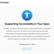 Invito Apple Developer