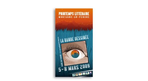 Affiche Salon du Printemps littéraire de Mortagne-au-Perche