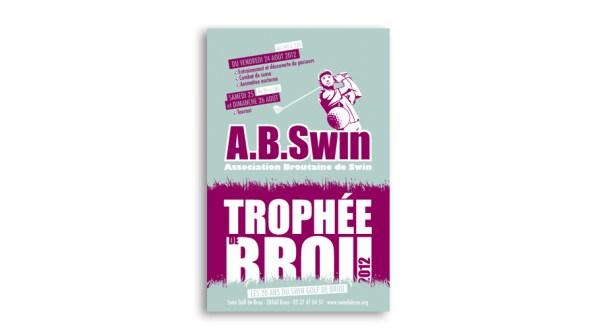 Affiche du trophée de Swin Golf de Brou