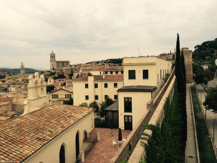 Image: Girona Skyline from the Wall