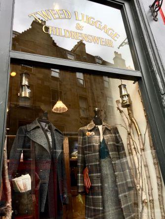 Image: Shop Window Sign - Tweed Luggage & Children's Wear