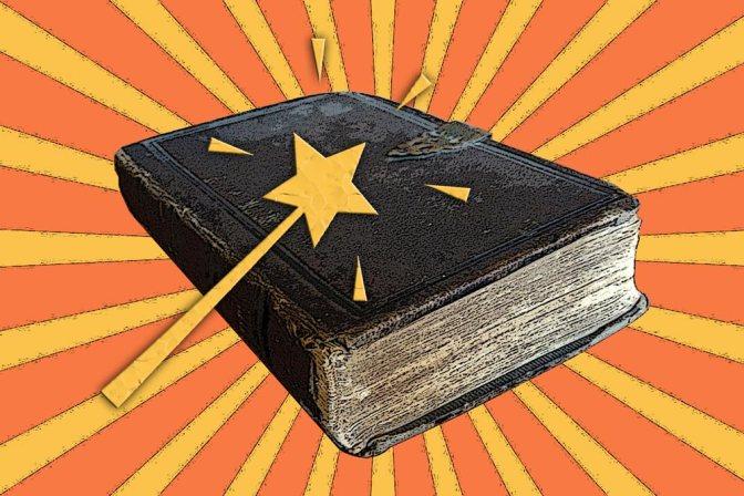 Image: Book Cover Magic