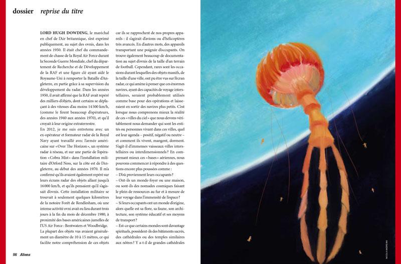 illustration orange jellyfish spaceship spaceman blue hearth planet universe space star