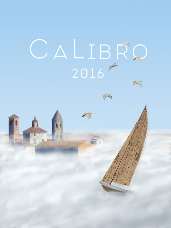 illustration calibro festival città di castello sale boat paper literature book bird wing