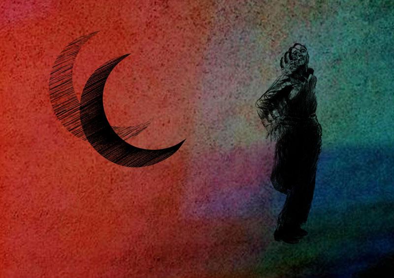 nicola andreani illustration ovni aliens running 1942 world war second moon published