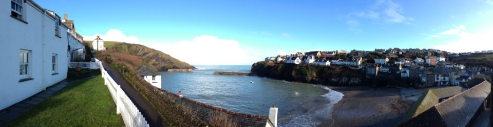 View from White House Cottage, Port Isaac