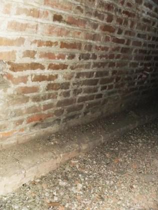 Dettaglio del sottotetto corrispondente alla prima campata della navata laterale sinistra (ala nord-ovest)