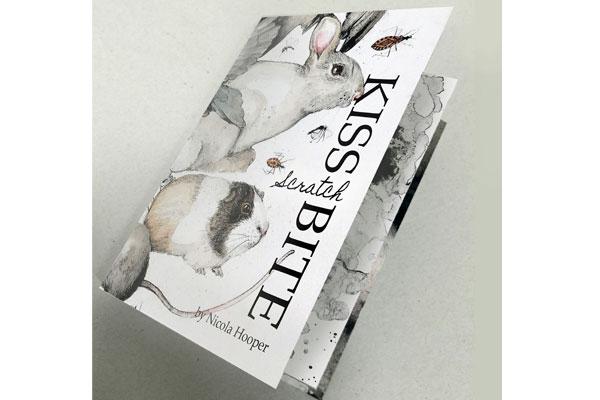 Kiss, Scratch, Bite Artists Book