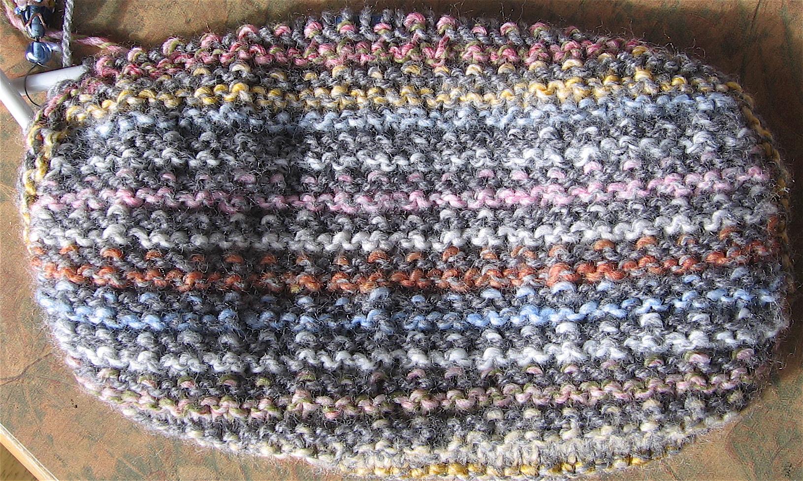 marble stripe bag
