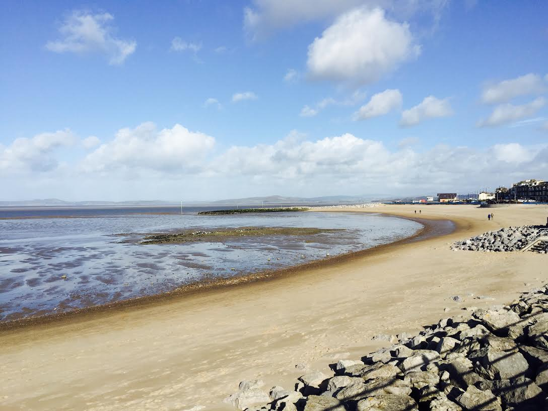 A picture of Morecambe to help you think nice thoughts...