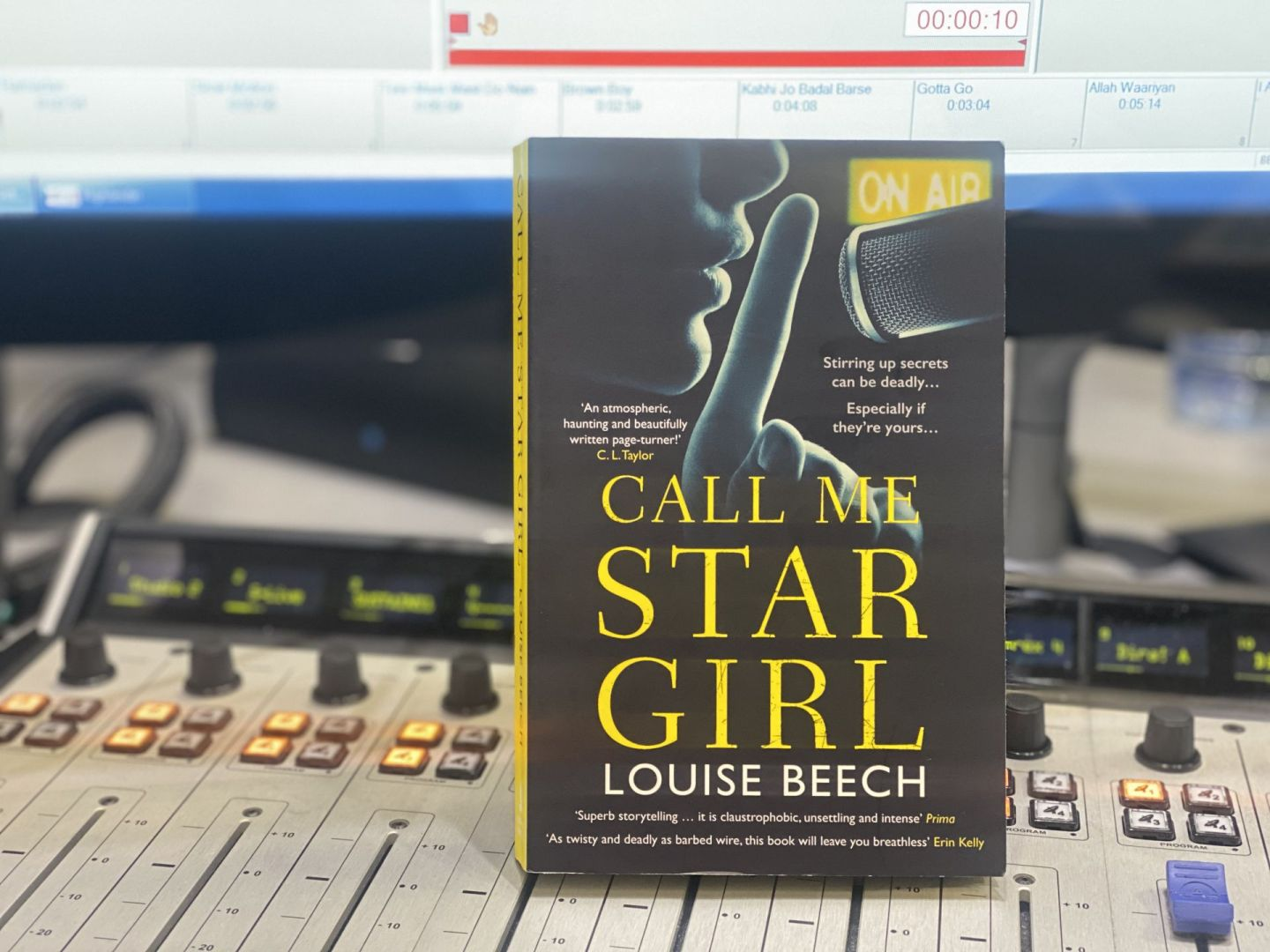 Call me star girl by Louise Beech at Orion publishing