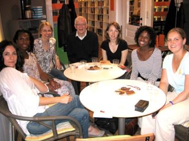 Book Club in Nicola's Bookshop