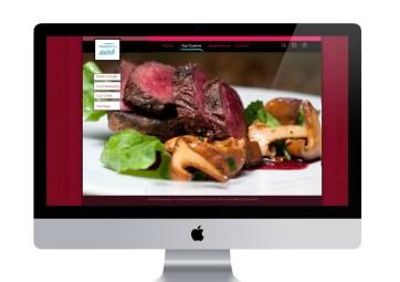 Wink restaurant website redesign