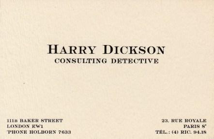 Harry Dickson