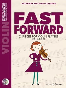 Colledge Fast Forward violon CD