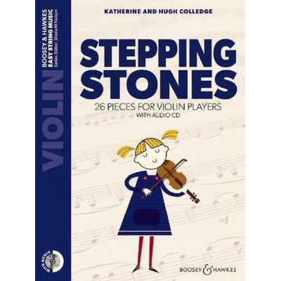 Colledge Stepping Stones violon CD