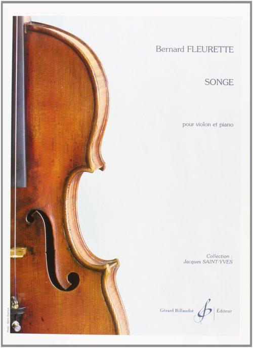 Fleurette Songe violon