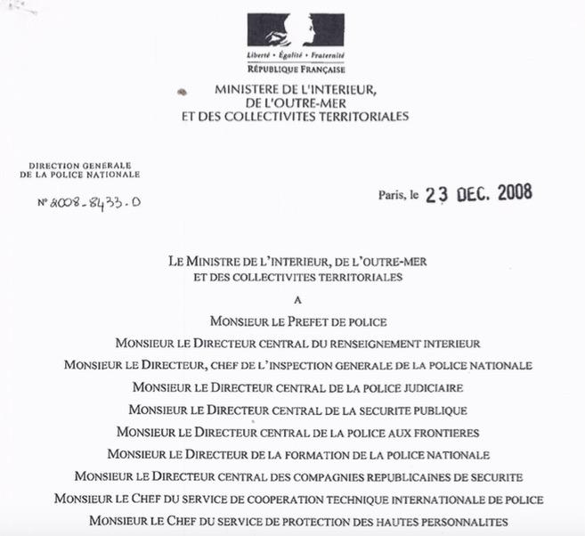 Droit à l image de la Police – Un texte officiel   Nicolas Kaplan 34eef0d4d594