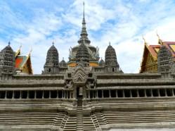 Maquette en pierre du temple d'Angkor ( Cambodge)