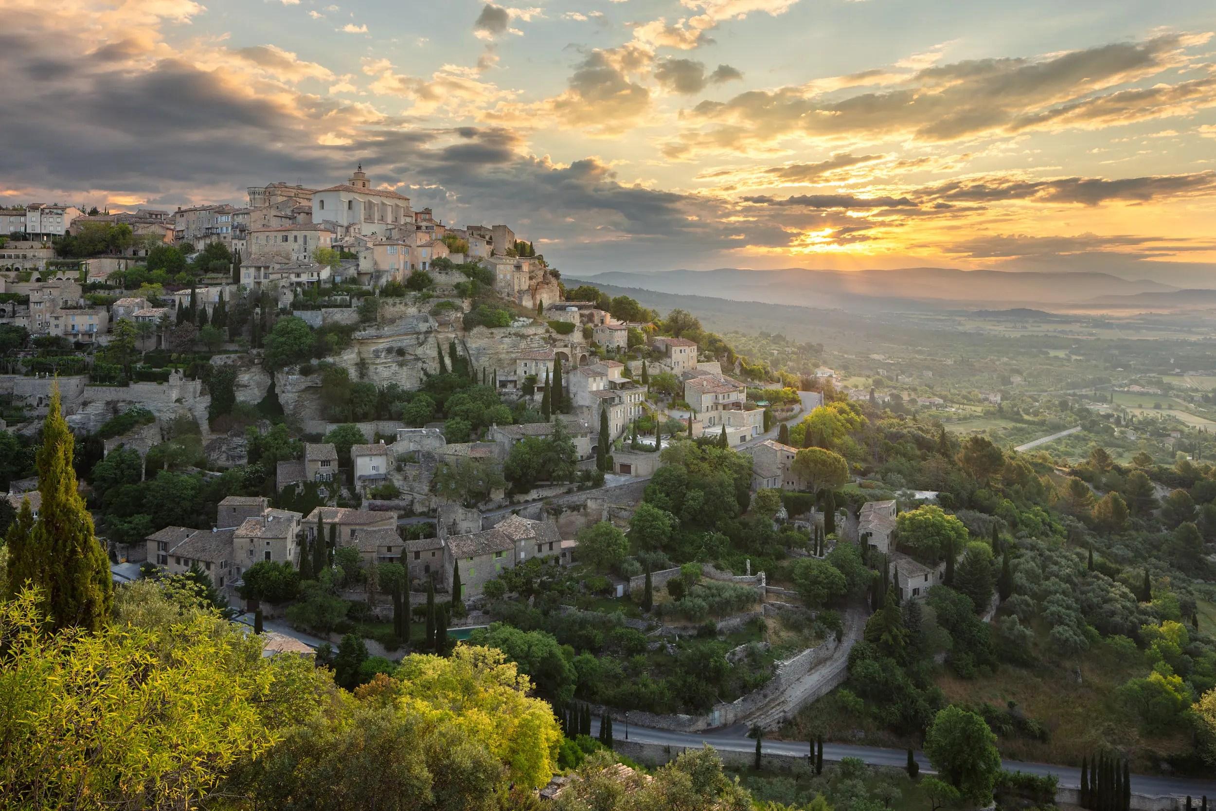 Gordes, Provence-Alpes-Côte d'Azur - France.