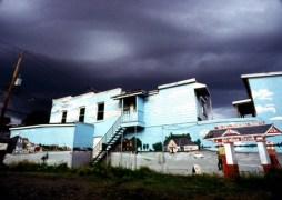 Orage sur la baie d'Urphée