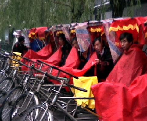 Pekin, les pousse-pousses