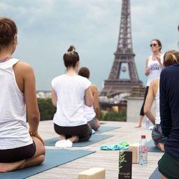 Yoga de luxe sur les toits ?