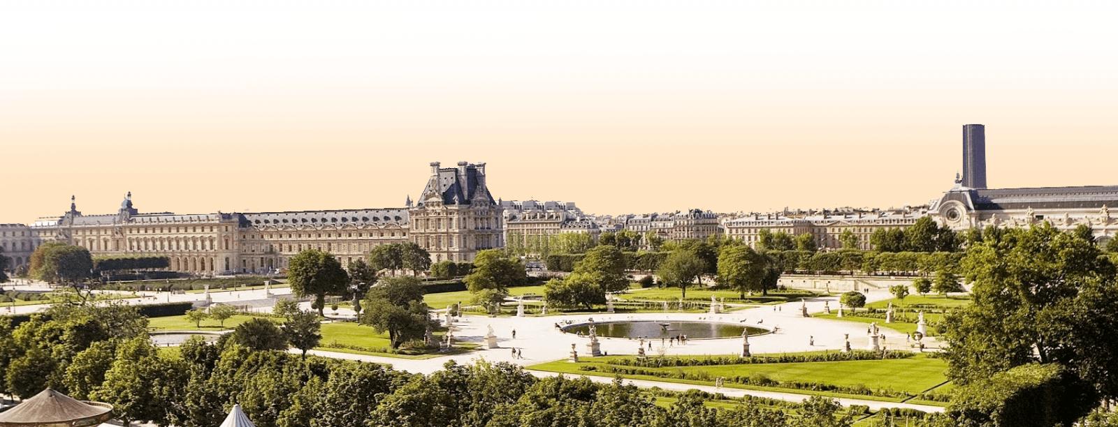 Une nuit face au Jardin des tuileries – Nicolas Rouquet