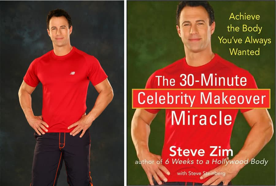 Steve Zim book cover photo by los angeles fitness photographer nicolas sage