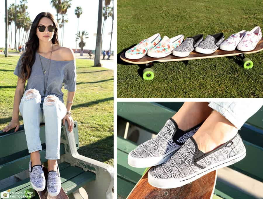 shoe and apparel photography venice beach