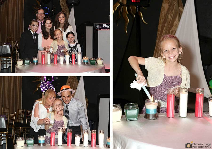candle lighting bat mitzvah bellaj banquet hall burbank