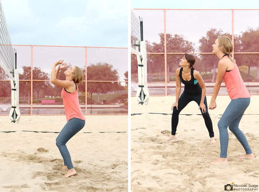 fitness lifestyle photography volleyball