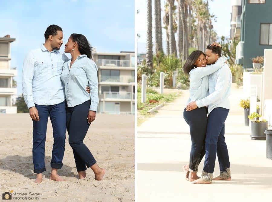 Venice Beach Engagement Photographer