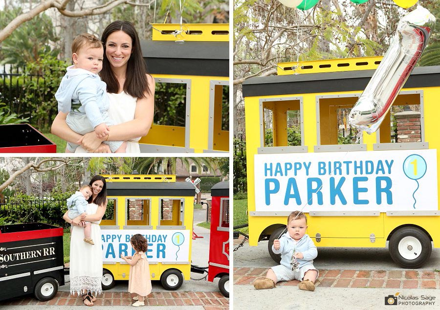 kids first birthday party photography