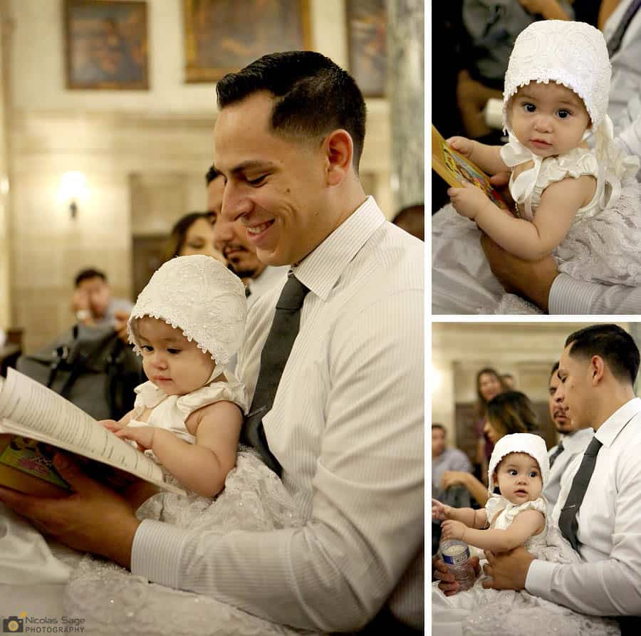 Baptism Photographer Pasadena Saint Andrews Catholic Church