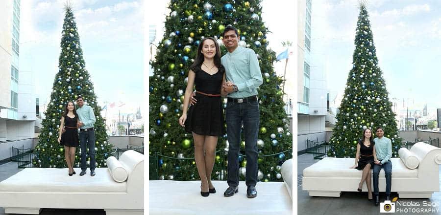 Christmas tree Hollywood Highland Center